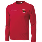 ST350LS - W116E001 - EMB - Long Sleeve Wicking T-Shirt