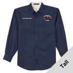 TLS608 - W116E001 - EMB - Tall Easy Care Shirt