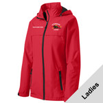 L333 - W116E001 - EMB - Ladies Waterproof Jacket