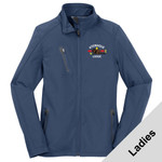 L324 - W116E001 - EMB - Ladies Soft Shell Jacket