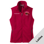 L219 - W116E001 - EMB - Ladies Fleece Vest