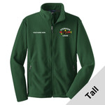 TLF217 - W116E001 - EMB - Tall Fleece Jacket